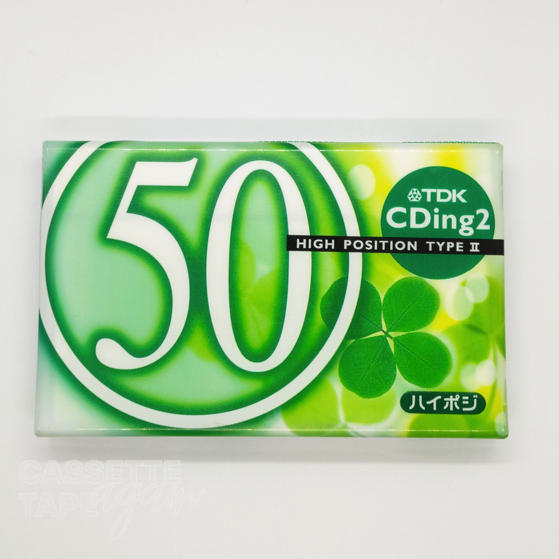 CDingII 50 / TDK(ハイポジ)