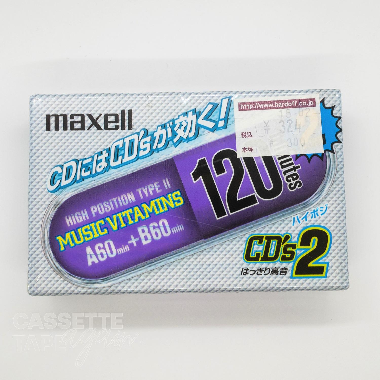 CD's 2 120 / maxell(ノーマル)