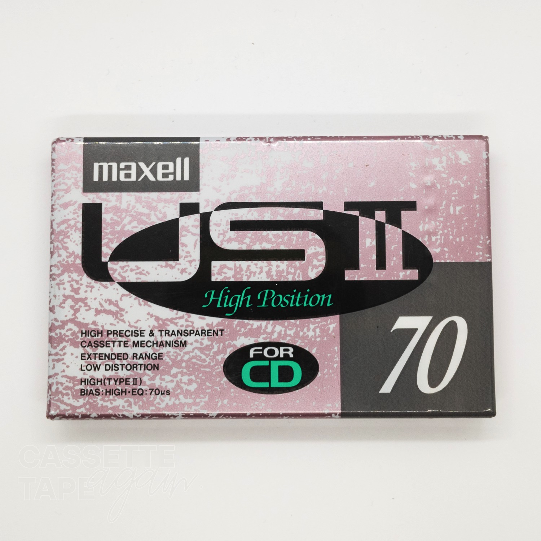 USII 70 / maxell(ハイポジ)