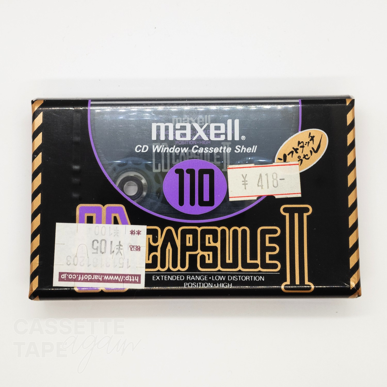CD CAPSULE II 110 / maxell(ハイポジ)