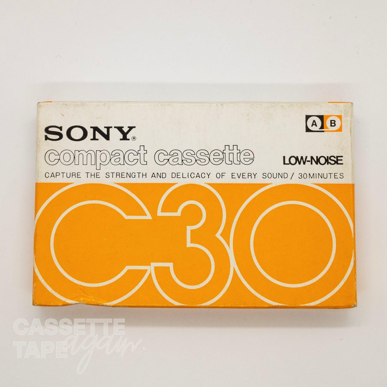 compact cassette 30 / SONY(ノーマル)