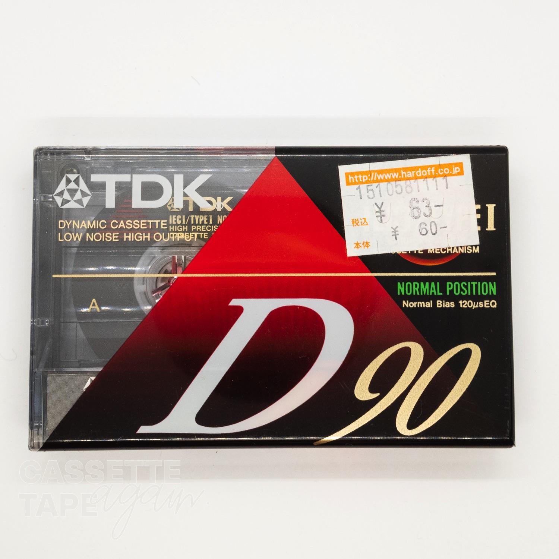 D 90 / TDK(ノーマル)