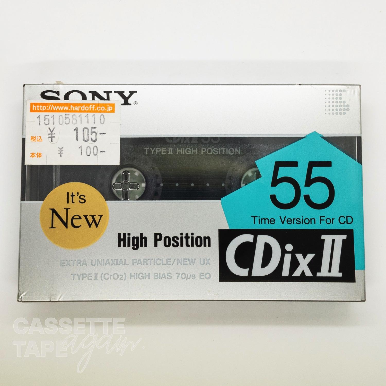 CDixII 55 / SONY(ハイポジ)