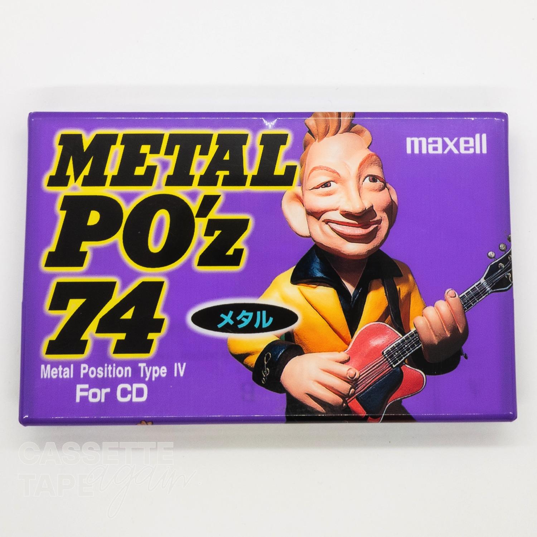 METAL Po'z 74 / maxell(メタル)