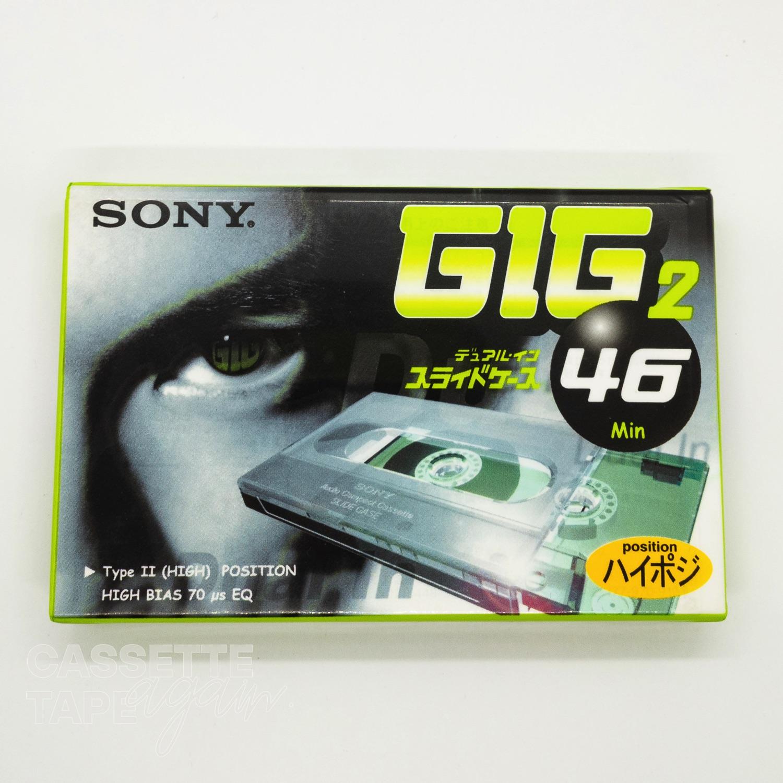 GIG2 46 / SONY(ハイポジ)