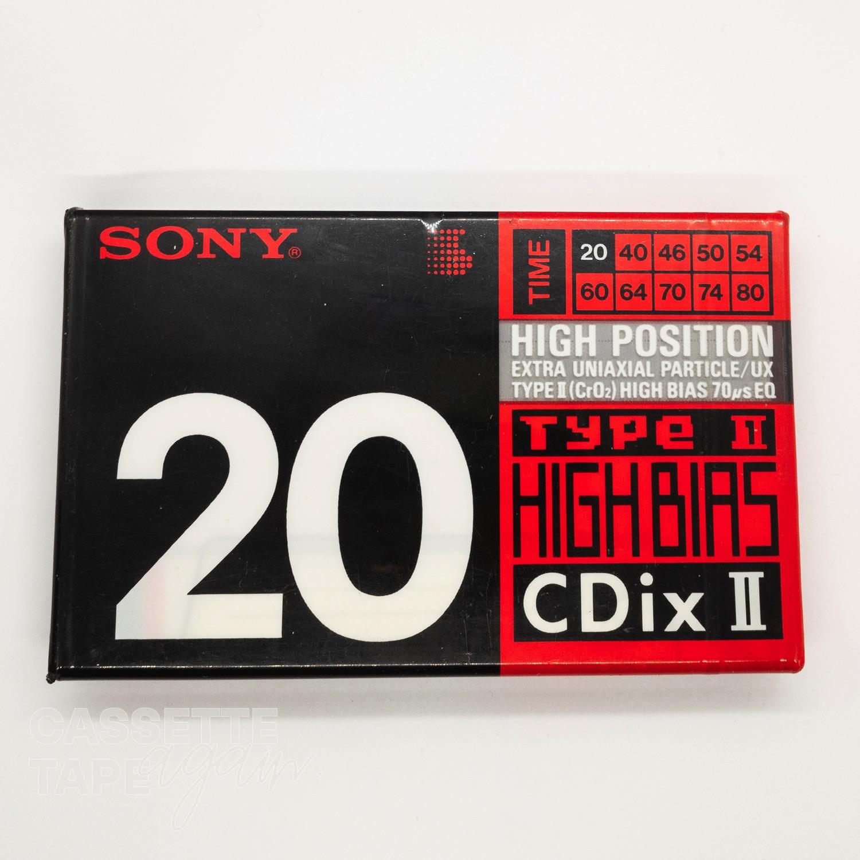 CDixI 20 / SONY(ノーマル)