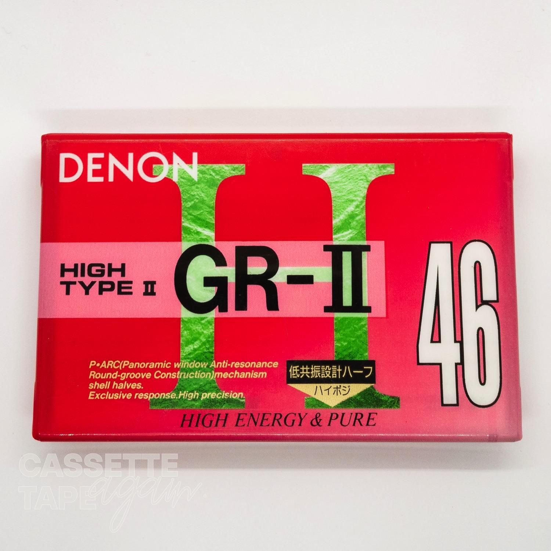 GR-II 46 / DENON(ハイポジ)