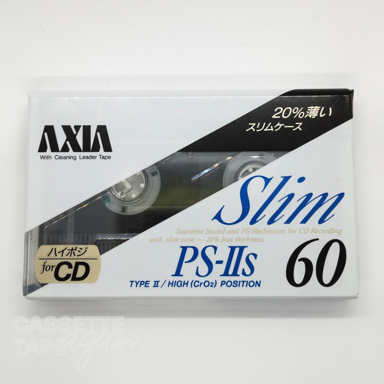 PS 2s 60 / AXIA/FUJI(ハイポジ)