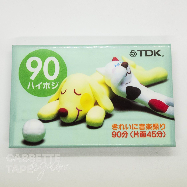 カセットテープ No.48 90 / TDK(ハイポジ)
