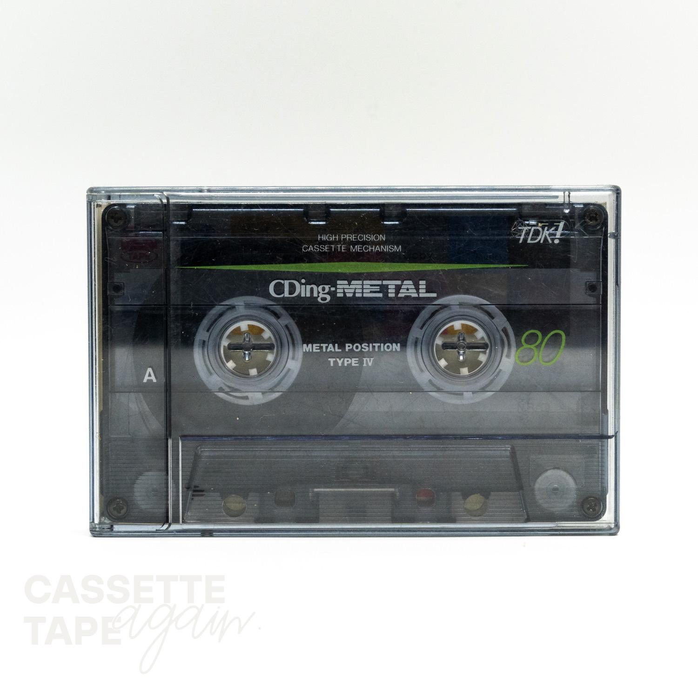CDingⅣ 80 / TDK(メタル)