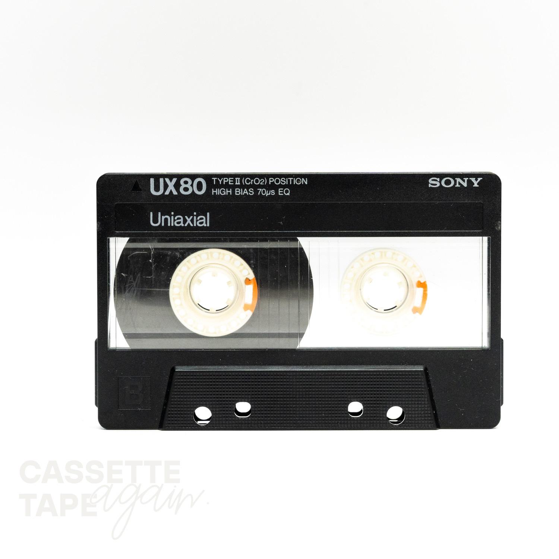 UX 80 / SONY(ハイポジ)