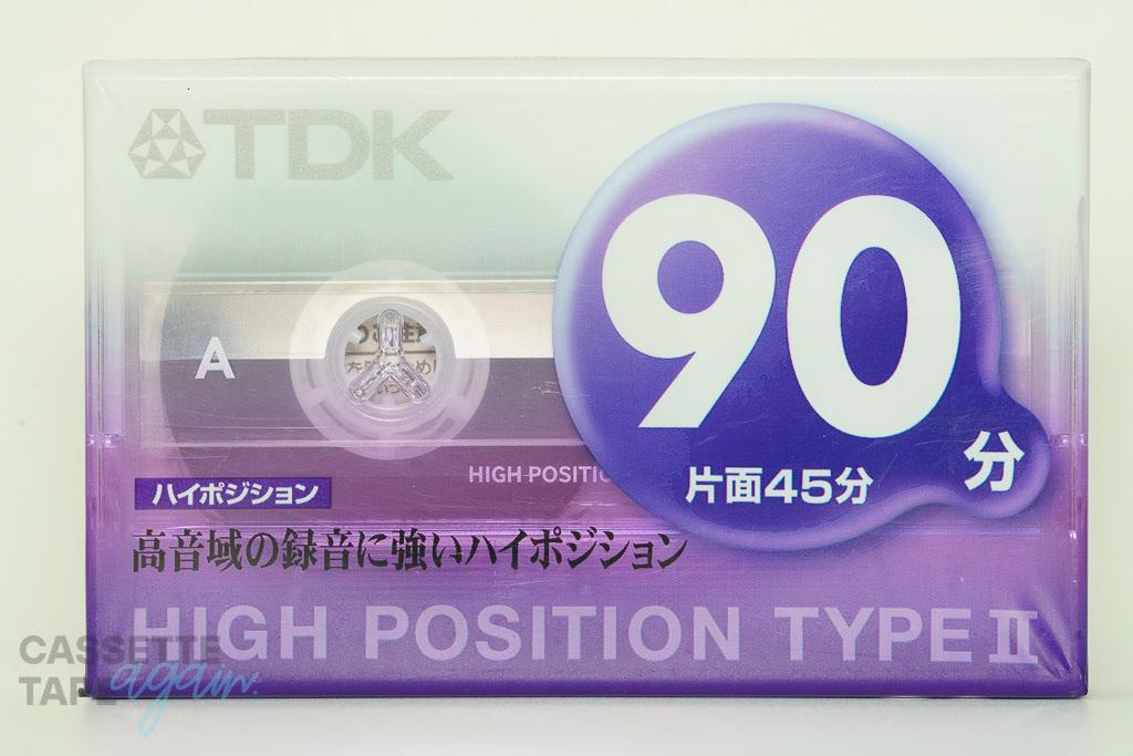 ハイポジション 90(ハイポジ,カセットテープNo.86) / TDK