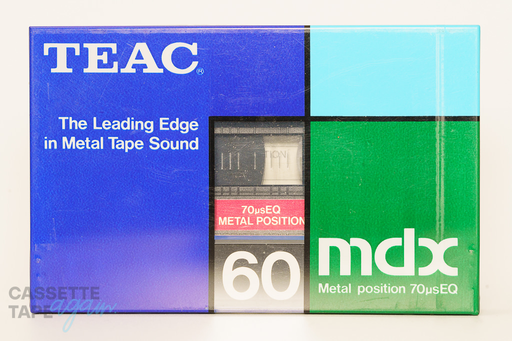 mdx 60(メタル,mdx 60) / TEAC