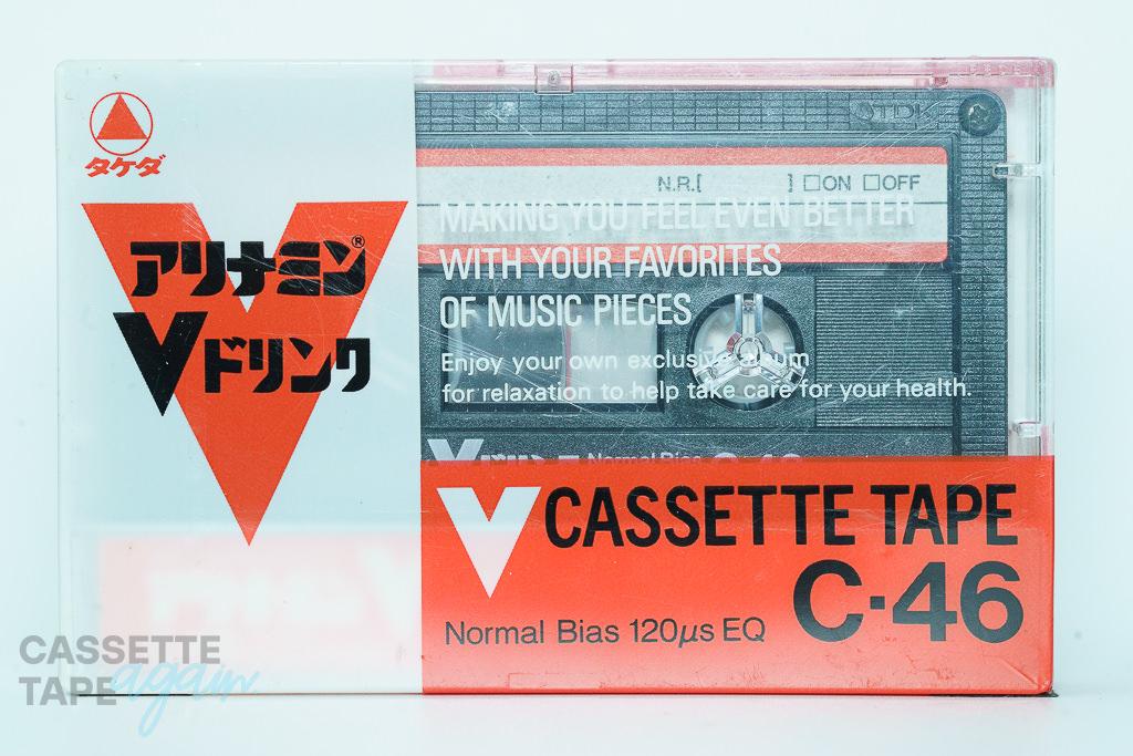 アリナミンVドリンク 46(ノーマル,アリナミンV CASSETTE TAPE C・46) / アリナミン