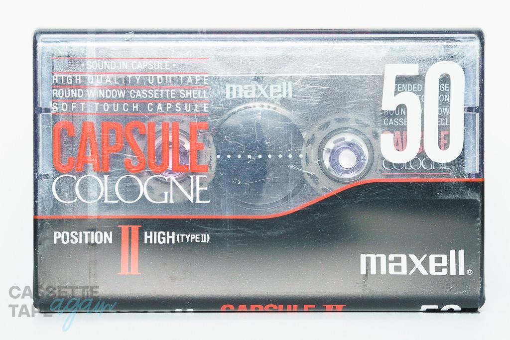 CAPSULE COLOGNE Ⅱ  50(ハイポジ,CAPSULE COLOGNE Ⅱ 50) / maxell