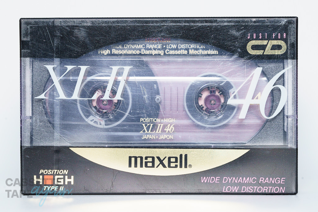 XL2 46(ハイポジ,XLⅡ 46) / maxell