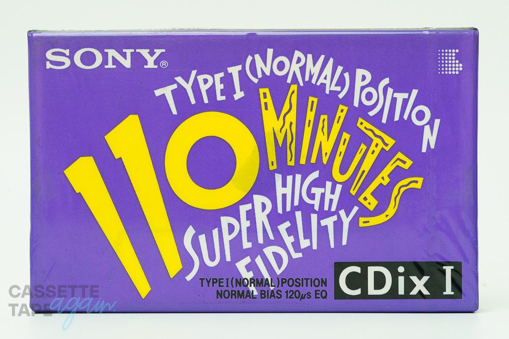 CDixI 110(ハイポジ,CDixⅠ 110) / SONY