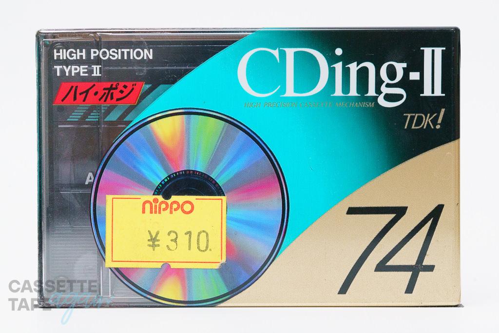 CDingII 74(ハイポジ,CD2-74A) / TDK