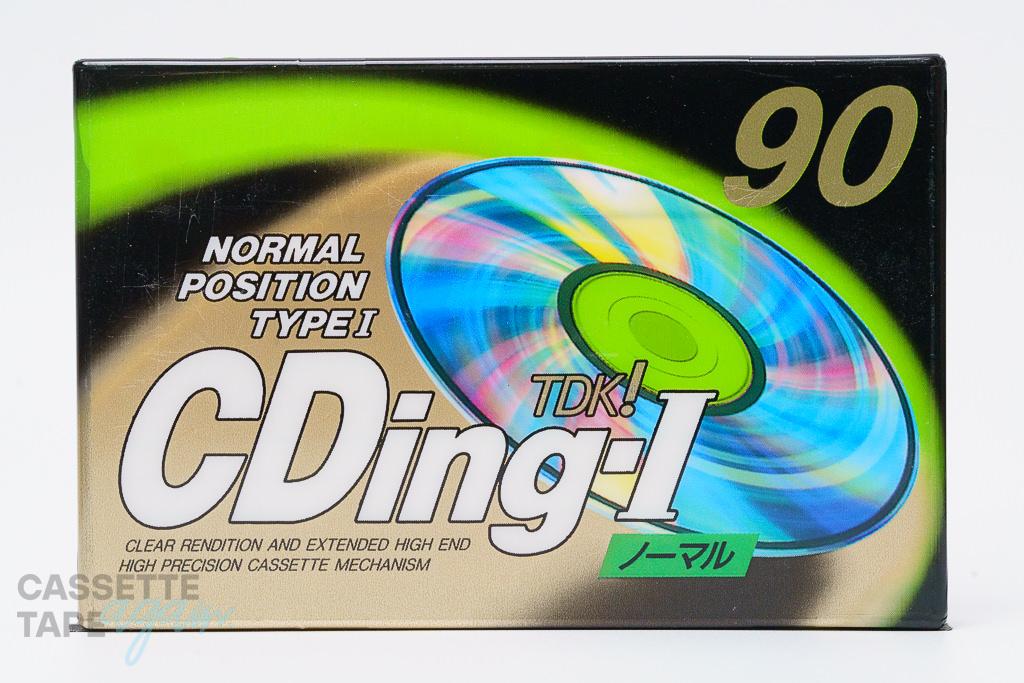 CDingI 90(ノーマル,CD1-90F) / TDK