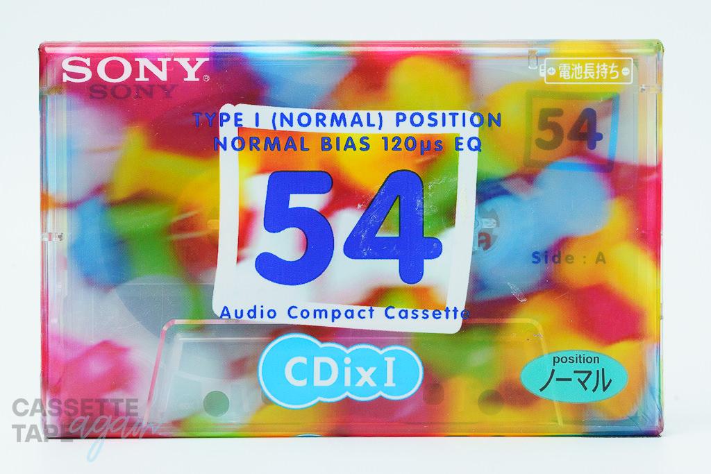 CDixI 54(ノーマル,CDixⅠ 54) / SONY