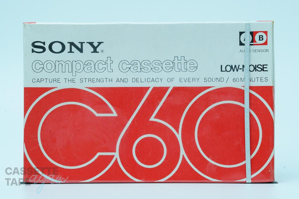 compact cassette 60(ノーマル,C60) / SONY